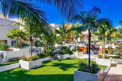 La Vita Courtyard, Little Italy, San Diego