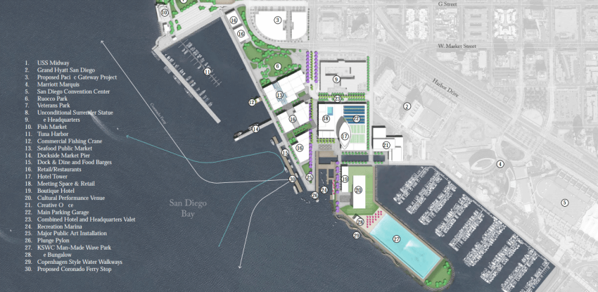 Equinox South Beach >> BIG Proposals For Downtown San Diego's Seaport Village