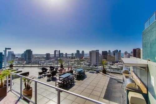 Smart Corner Roof, East Village, San Diego