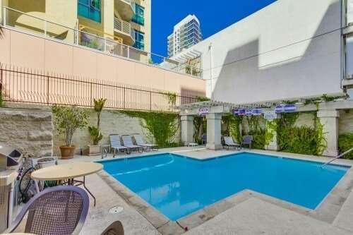 Symphony Terrace Pool, Cortez Hill, San Diego