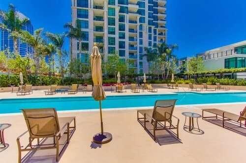 The Grande North Pool, Columbia District, San Diego