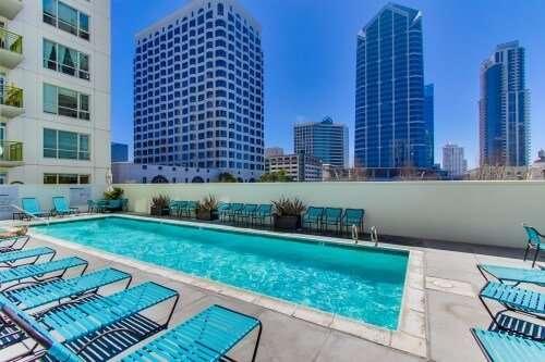 Treo Pool, Columbia District, San Diego