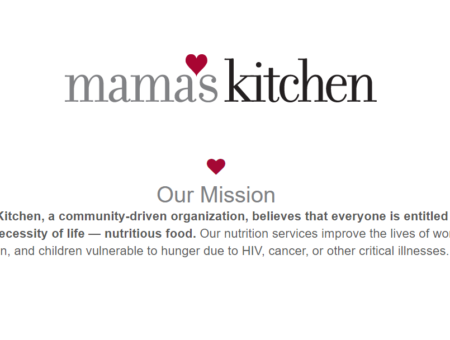 Our Annual Food Drive for Mama's Kitchen is Here!
