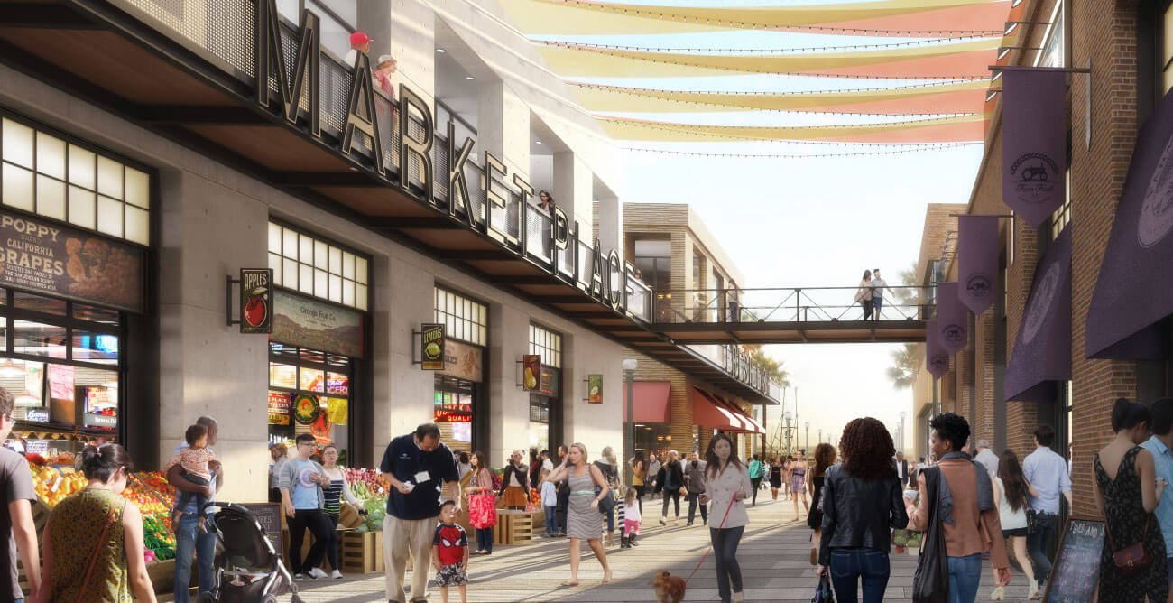 Project selected to redevelop seaport village for Fish market seaport village